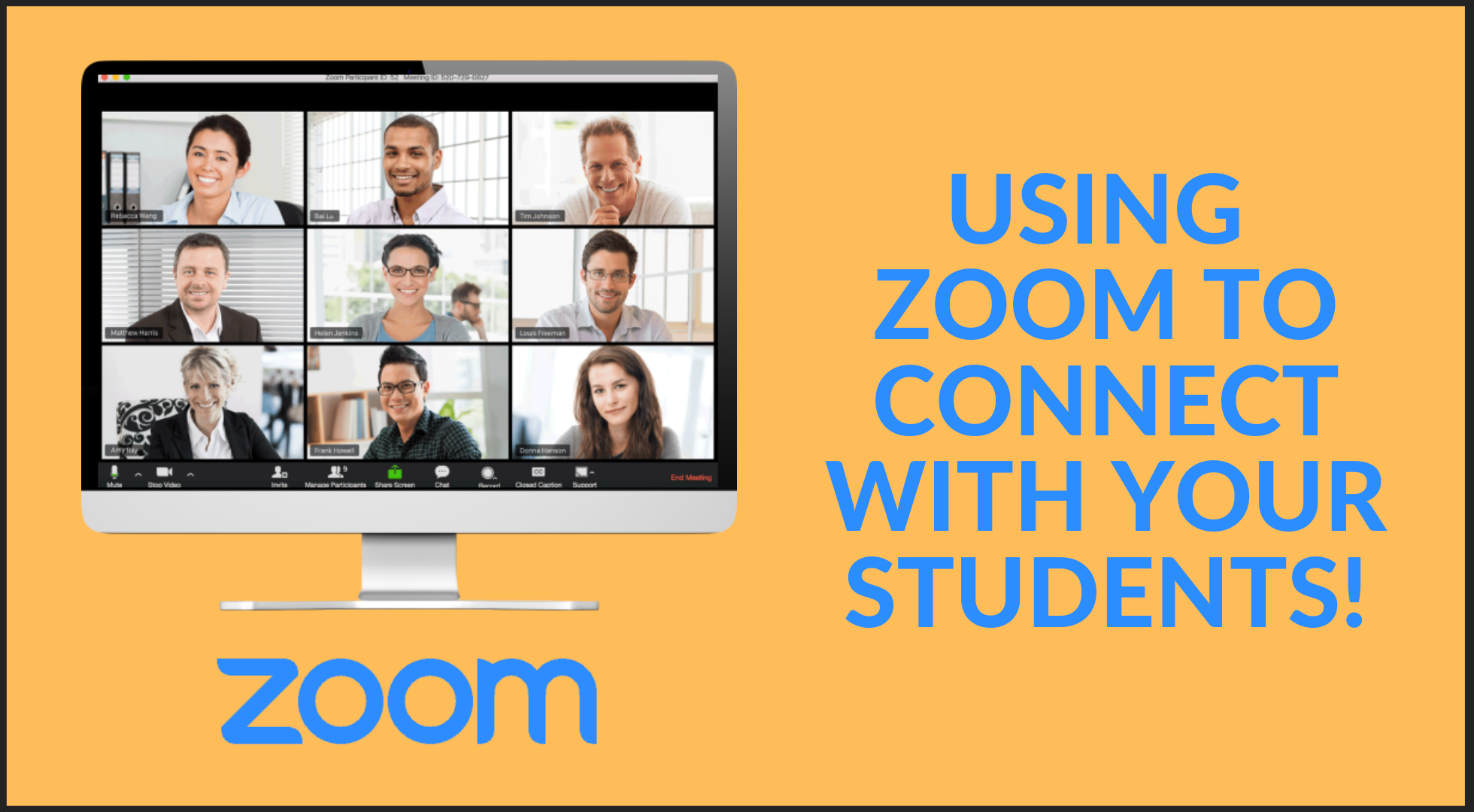 Professional Development – Using Zoom to Connect with Your Students